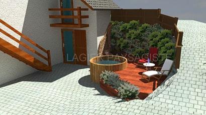 Lagier Paysagiste - Création de jardin et piscine naturelle biodesign à Gap